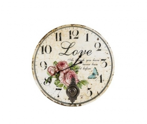 Orologio da parete a pendolo Love