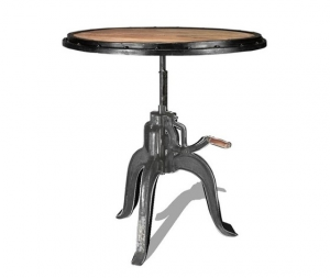 Tavolino Industrial rotondo