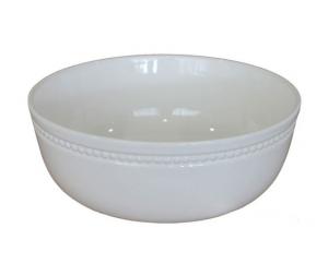 Insalatiera alta ceramica bianco