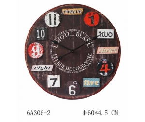 Orologio da parete in MDF 60 cm