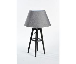 Lampada da tavolo legno stile Shabby Chic