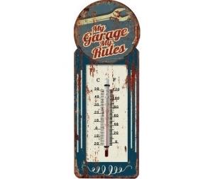 Termometro da parete in metallo