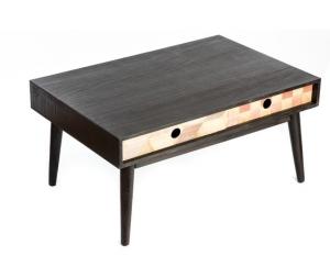 Mobile in legno marrone tavolino New Retr˜ 40 cm