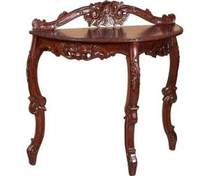 Consolle tavolino in legno mogano Stile Classico
