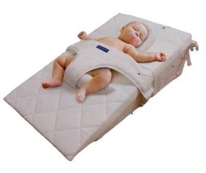 Sistema sonno antireflusso kit guanciale fissaggio imbragatura materasso