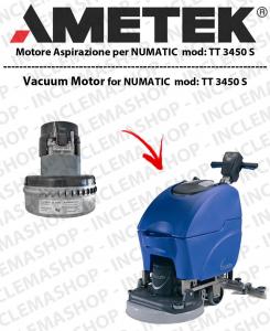 TT 3450S  Ametek Vacuum Motor for squeegee rubberi NUMATIC