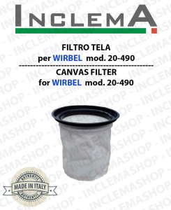 Canvas Filter WIRBEL COD 20-490 for vacuum cleaner