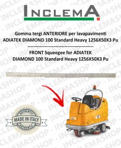 Front Squeegee Rubber for Scrubber Dryer  ADIATEK DIAMOND 100 Standard Heavy