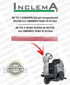 BR 751 C PARASPRUZZI for Scrubber Dryer NILFISK
