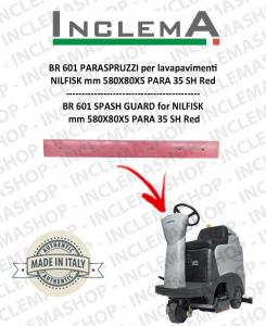 BR 601 PARASPRUZZI for Scrubber Dryer NILFISK