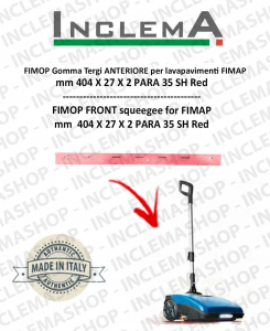 FIMOP Front Squeegee Rubber for Scrubber Dryer FIMAP