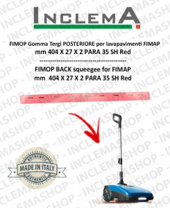 FIMOP Back Squeegee Rubber for Scrubber Dryer FIMAP