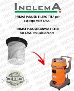 PRIMAT PLUS 58 Canvas Filter for vacuum cleaner TASKI