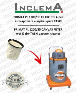 PRIMAT PL 1200/35 Canvas Filter for vacuum cleaner TASKI