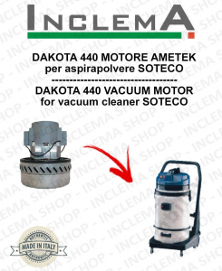 DAKOTA 440 Vacuum Motor Amatek for vacuum cleaner SOTECO