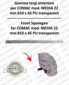 MEDIA 22 goma de secadopavimento delantera para fregadora COMAC