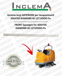 goma de secado delantera para fregadora  ADIATEK DIAMOND 85