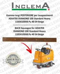 goma de secado trasero para fregadora ADIATEK DIAMOND 100 Standard Heavy