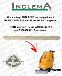goma de secado delantera para fregadora ADIATEK RUBY 55 E