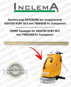 goma de secado delantera para fregadora ADIATEK RUBY 50 E