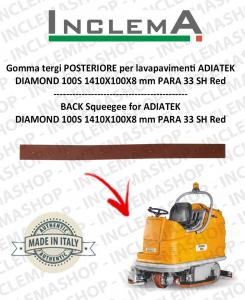 goma de secado trasero para fregadora ADIATEK DIAMOND 100S