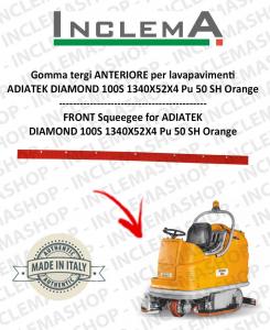 goma de secado delantera para fregadora ADIATEK DIAMOND 100S