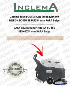 goma de secado trasero para fregadora Nilfisk SC 450