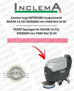 goma de secado delantera para fregadora Nilfisk CA 531