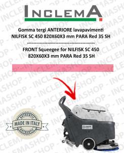 goma de secado delantera para fregadora Nilfisk SC 450