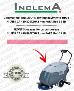 goma de secado delantera para tergipavimento curvo Nilfisk CA 410