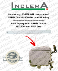 goma de secado trasero para Nilfisk CA 450