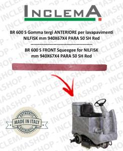 BR 600 S goma de secado delantera para fregadora NILFISK