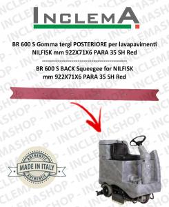 BR 600 S goma de secado trasero para fregadora NILFISK