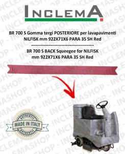 BR 700 S goma de secado trasero para fregadora NILFISK