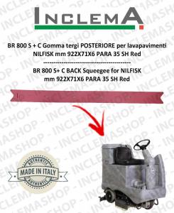 BR 800 S+C goma de secado trasero para fregadora NILFISK