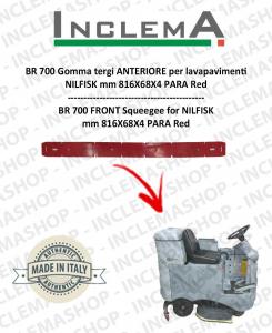 BR 700 goma de secado delantera para fregadora NILFISK