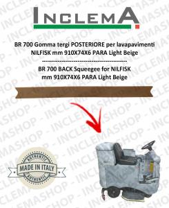 BR 700 goma de secado trasero para fregadora NILFISK