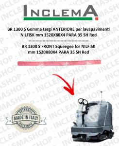 BR 1300 S goma de secado delantera para fregadora NILFISK