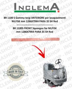 BR 1100 S goma de secado delantera para fregadora NILFISK