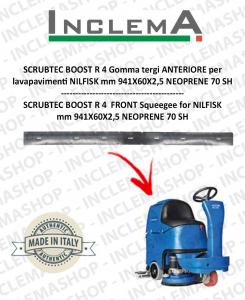 SCRUBTEC BOOST R 4 goma de secado delantera para fregadora NILFISK