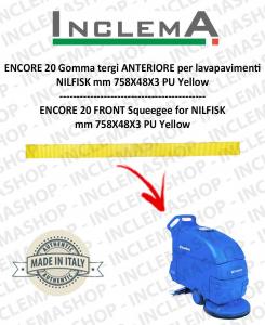 ENCORE 20 goma de secado delantera para fregadora NILFISK