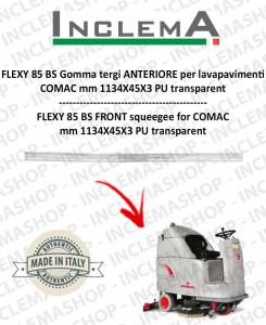 FLEXY 85 BS goma de secado delantera para fregadora COMAC