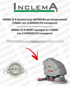 OMNIA 32 B goma de secado delantera para fregadora COMAC