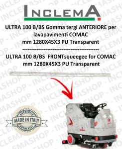 ULTRA 100 B/BS goma de secado delantera para fregadora COMAC
