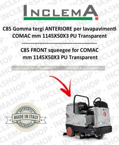 C 85 goma de secado delantera para fregadora COMAC