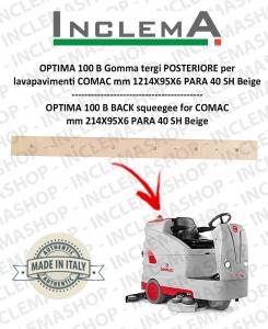 OPTIMA 100 B goma de secado trasero para fregadora COMAC
