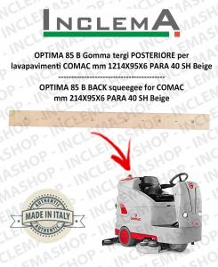 OPTIMA 85 B goma de secado trasero para fregadora COMAC