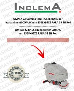 OMNIA 42 B goma de secado trasero para fregadora COMAC