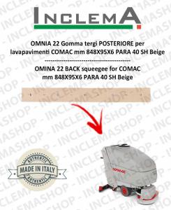 OMNIA 22 goma de secado delantera para fregadora COMAC