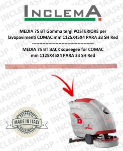 MEDIA 75 BT goma de secado trasero para fregadora COMAC